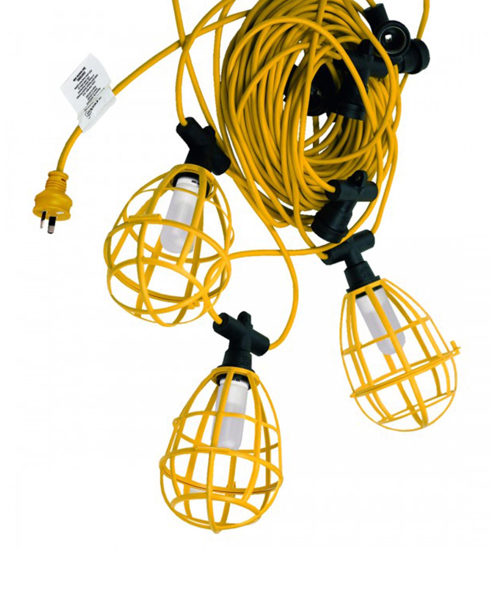 30 Metre Standard Festoon With 10 Es Lamp Holders