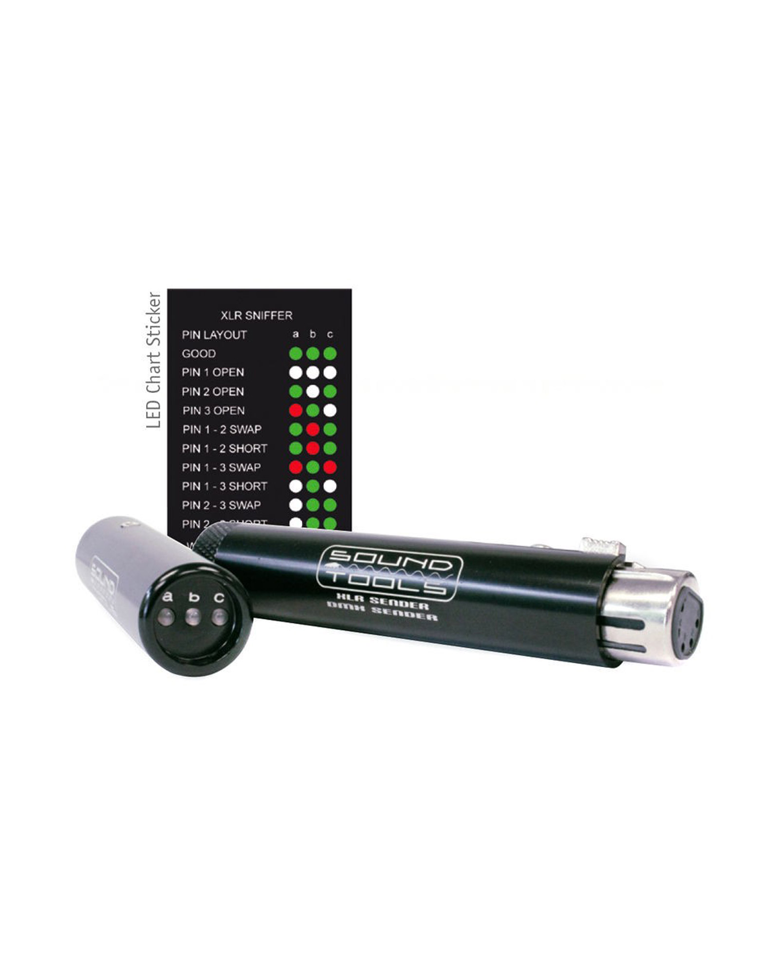 Sound Tools Dmx Sniffer Sender Cable Tester