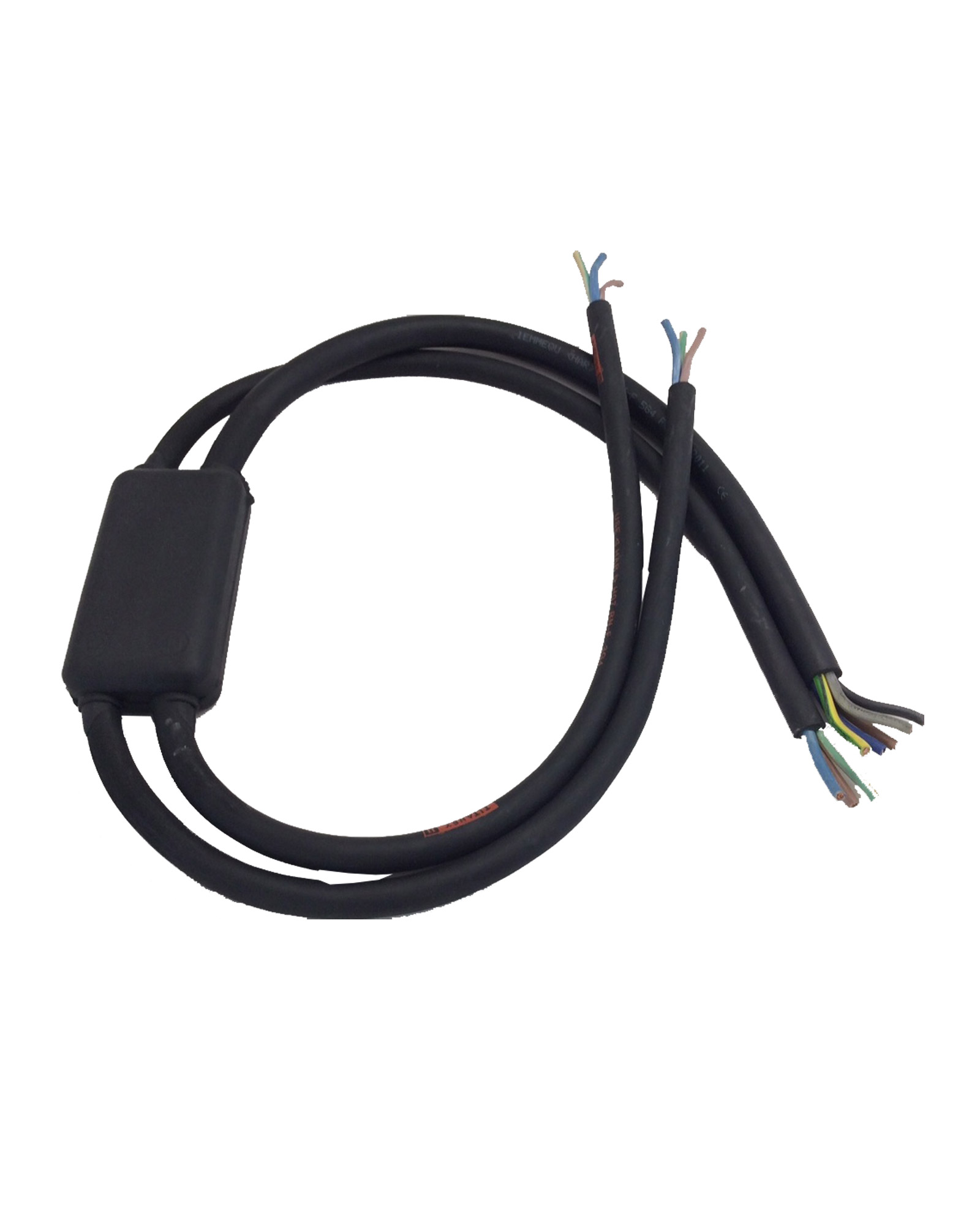 3 Phase 3 Way Break Out To Single Phase 5 Core 4.0mm Rubber HO7 Cable