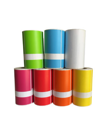 Roll of 250 PAT Testing Labels and Cable Wraps