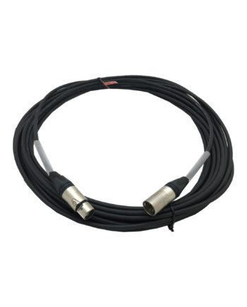 5 Pin Eurocable Dmx Extension – Neutrik Connectors