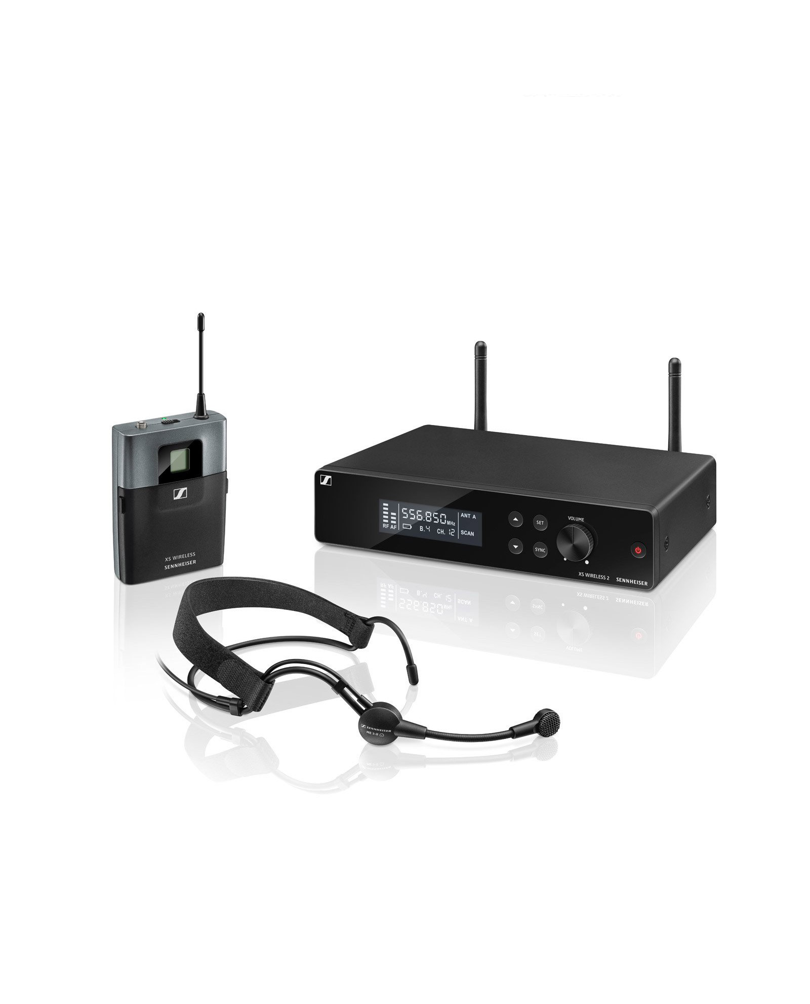 Sennheiser Xsw 2 Me3 Wireless Headset Kit