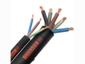 5 Core 6.0mm HO7 TITANEX Nexans Olex Rubber Cable
