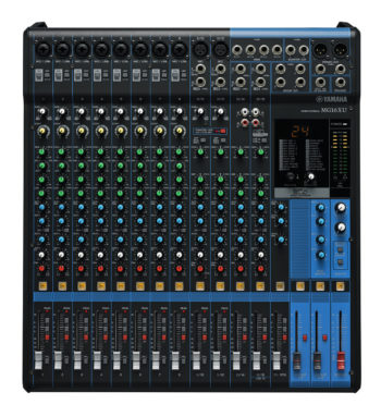 Yamaha 16 Channel Mixer with 16 D-Pre Inputs, USB and Effects MG16XU