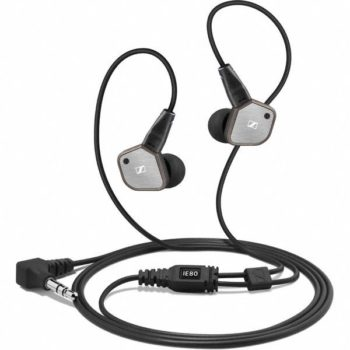 Sennheiser IE80 - Travel Headphones - Noise Cancelling