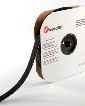 "Velcro - Genunie - Hook Fastening Self Adhesive 19mm x 25m roll ""Hooks"" Black"