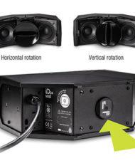 NEXO ID24T CABINET 120 x 40, Rotabable HF Horn