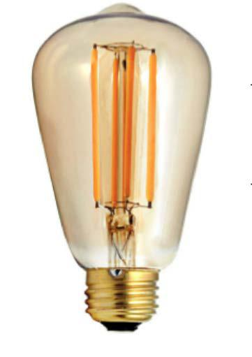Firefly 24v Led Filament Lamp 4 5w E27 Dimmable Showtechnix