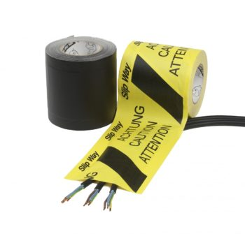 Cable Management Tapes Slipway Black/Yellow