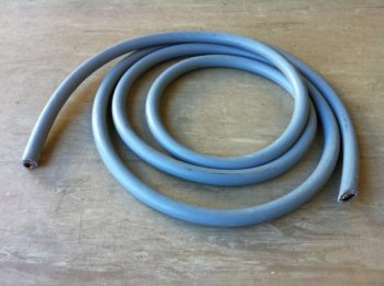 12 Core 2.5mm PVC Cable Grey Numbered Cores