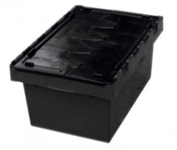 Storage Crate - Security Crate - Stackable and Nesting AP68 68L