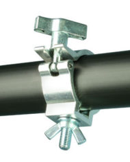 Doughty Half Coupler Slimline Super Lightweight Aluminium 75 KG T58122