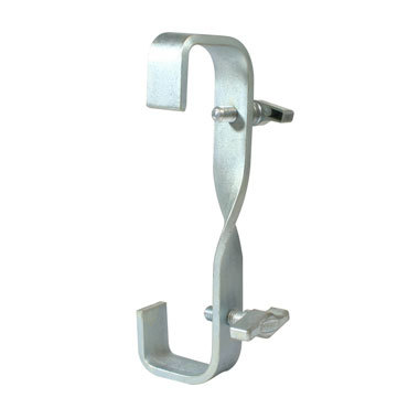 Double Ended Hook Clamp 300mm with 90 Degree Twist Doughty T21700