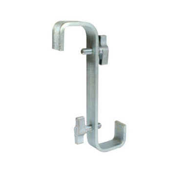 Double Ended Hook Clamp 300mm with 180 Degree Twist Doughty T19900
