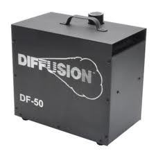 DF 50 DMX Professional Haze Machine