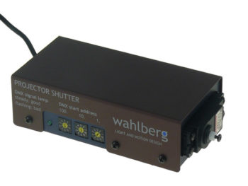 DMX Projector Dowser / Shutter with Remote Control Wahlberg