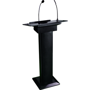 itc Lectern PA System with built in Gooseneck Mic and Lamp