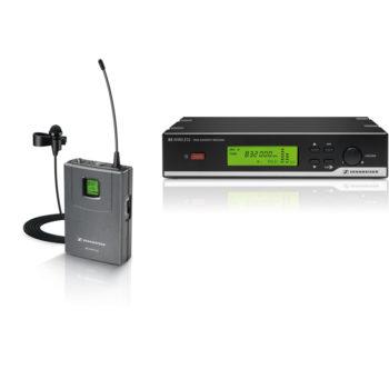 Sennheiser XSW 12 Wierless Lapel Mic Kit ME2-2 and Reciever
