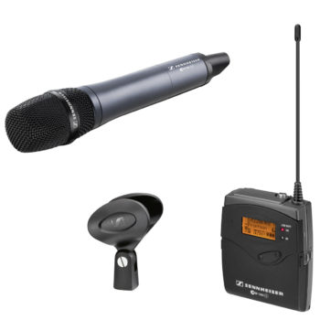 Sennheiser EW 135P G3 Lapel Mic Kit and Portable Receiver (Rechargeable Option)