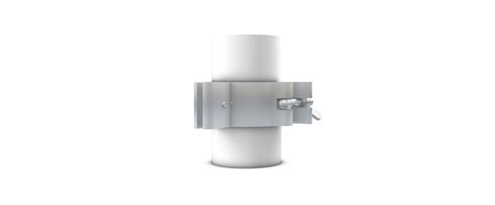 Milos Cell 511 Coupler Panel Holder, 48-51mm Aluminium Panel Holder