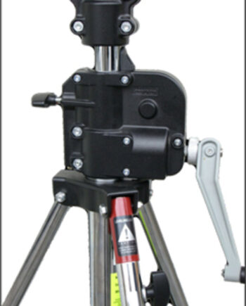 Wind Up (Winch Up) Manfrotto Stand 087NWB 3.7M Black Zinc