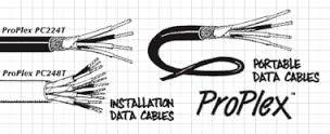 Proplex DMX 512 Cable 1 Pair PC222P (TMB)