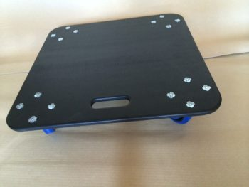 Professional Dolly Boards! 600 x 600, Handle, 100 mm Heavy Duty Castors
