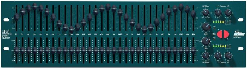 BSS FCS-966 Constant Q Graphic EQ
