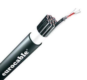 SSAD AES/EBU Aluminium Foil Shield Multipair 4 Pair (Audio Mulicore Cable) SSSAD04