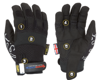 Venta Cool The Glove That Breathes Dirty Rigger Glove DTY-VENTA