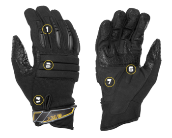 SRT Get A Grip! Dirty Rigger Glove DTY-SRT