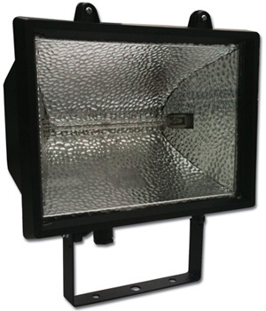 1000W Standard Flood Light Black