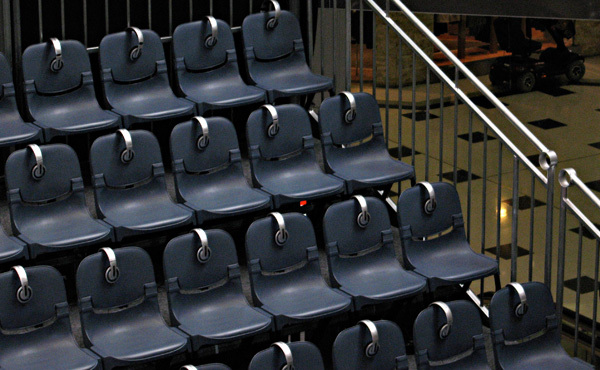 Concertina Seating Staging System Customised To Your