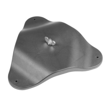 Adam Hall Floor and Wall Mounting Plate (Turtle)