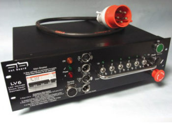 LV Motor Controller, LV 6 by Outboard Socapex Outlets