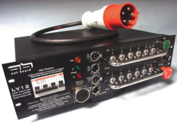 LV Motor Controller, LV 12 by Outboard Socapex Outlets