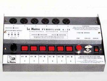 Le Maitre 6/24 Way Pyro Controller