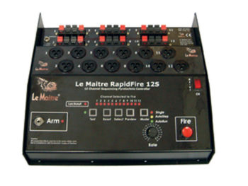 Le Maitre RapidFire 12s Sequencer