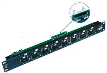 LK AD8 IN J GL - Input Module for the AD Series c/w Ground Lift Switch and Transformer per input