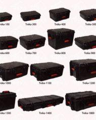 All Terrain Plastic Case Internal Dimensions 345 x 150 x 278mm TREKA1300