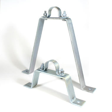 Doughty T33310 Pipe to Wall Bracket 100mm Stand Off