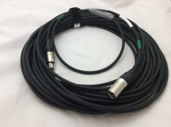 3 Pin 1 Metre AES/EBU MIC Cable Eurocable D2N6S2 + Neutrik Connectors