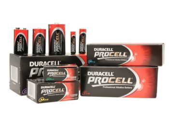 Duracell Procell D Size Batterys Pack of 10