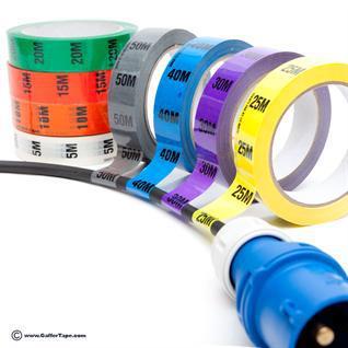 Complete Set of Cable Identification Tape Identitak 11 Rolls