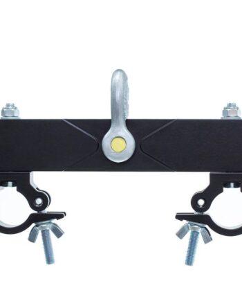 Milos Adjustable Ceiling Support / Pick Up Beam Black 1000KG