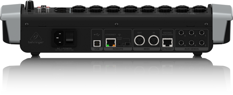 behringer 18 channel 12 bus digital mixer for ipad android x air x18 showtechnix. Black Bedroom Furniture Sets. Home Design Ideas