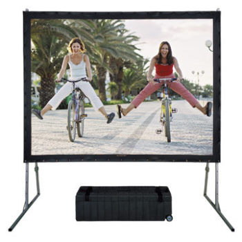 "Fast Fold Projector Screen 120"" 16:10 Frame and Front Screen GRQQG120C"