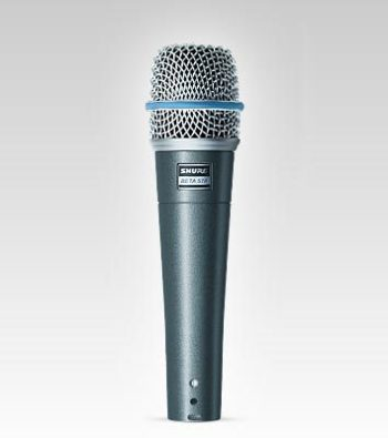 Shure BETA57A Instrument Microphone