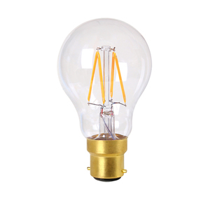 A60 GLS 6w LED Filament Lamp - Clear - Dimmable