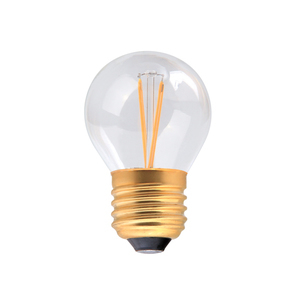 G45 lustre 4w LED Filament Lamp - Clear - Dimmable